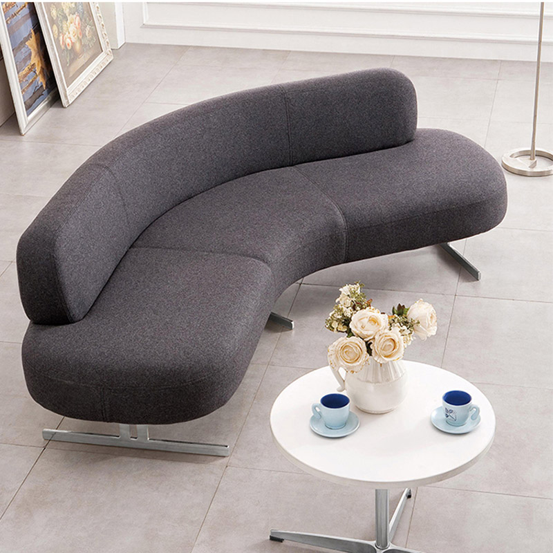 弧形休闲沙发